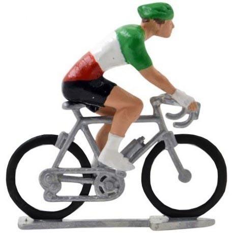 Italian champion H-W - Miniature cyclist figurines