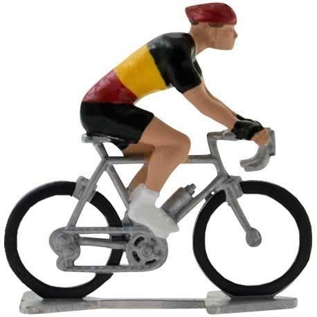 Belgian champion H-W - Miniature cyclist figurines
