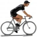 Molteni black - Miniature racing cyclists