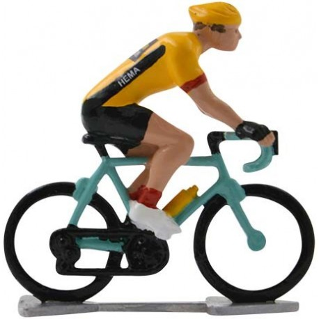 Jumbo-Visma 2020 H-WB - Figurines cyclistes miniatures