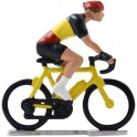 Belgian champion HD-WB - Miniature cyclist figurines