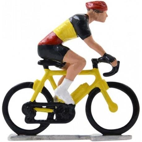 Belgian champion H-WB - Miniature cyclist figurines