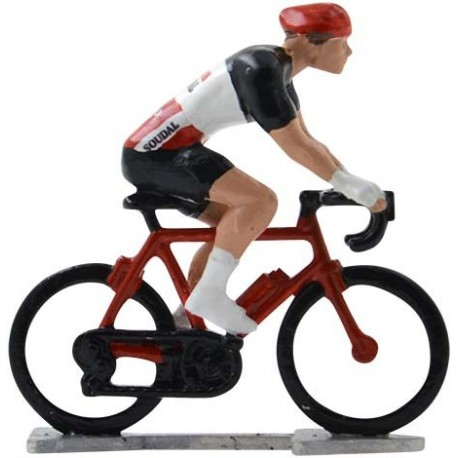 Lotto-Soudal 2020 H-WB - Figurines cyclistes miniatures