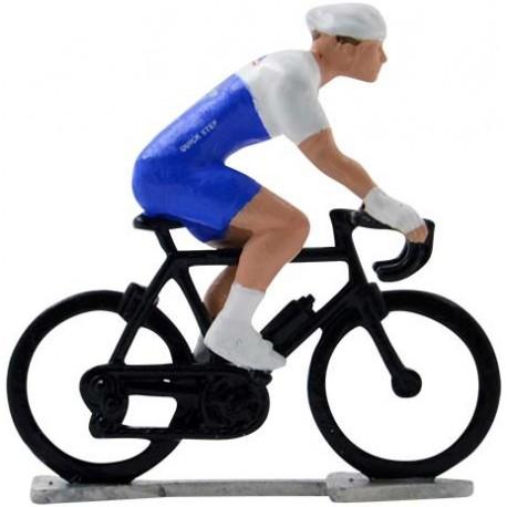 Deceuninck - Quick Step 2020 H-WB - Figurines cyclistes miniatures