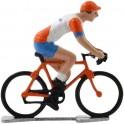 Rabobank K-WB - Miniature racing cyclists
