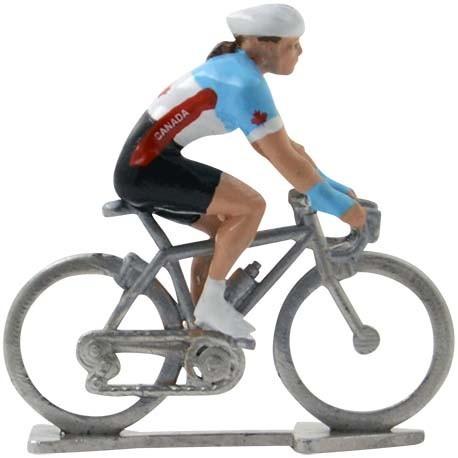 Canada World championship HDF - Miniature cycling figures