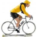 Maillot jaune L - coureurs miniatures