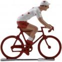 Cycliste avec coeurs WB - Cyclistes figurines
