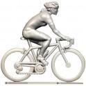 Custom made female cyclist HF - Miniature cyclists