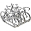Carrier with 3 bikes - Miniature cyclist figurines