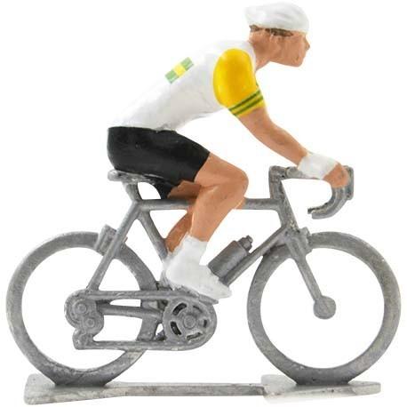 Australian champion H - Miniature cyclist figurines