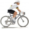 Champion du monde HF - Figurines cyclistes miniatures