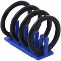 Dakdrager met 4 wielen geschilderd - Miniatuur wielrenners