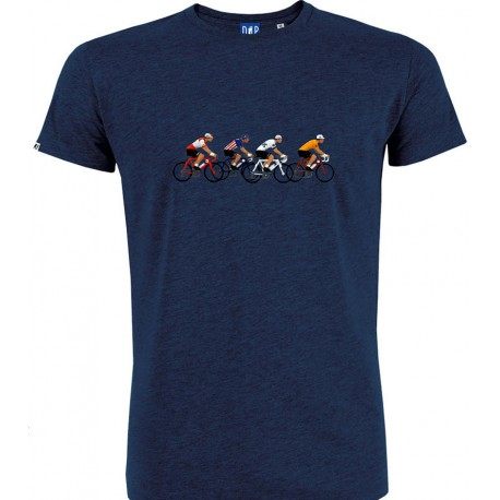 T-shirt Bic/Brooklyn/Peugeot/Molteni Blue