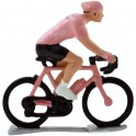 Pink jersey H-WB - Miniature cycling figures