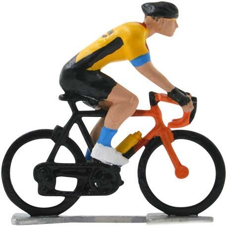 Bahrain-McLaren 2020 H-WB - Figurines cyclistes miniatures