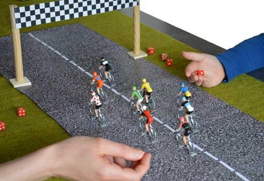 Geschiedenis Miniatuur Wielrenners
