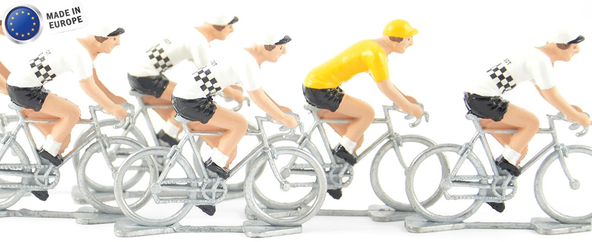 Miniature cyclists