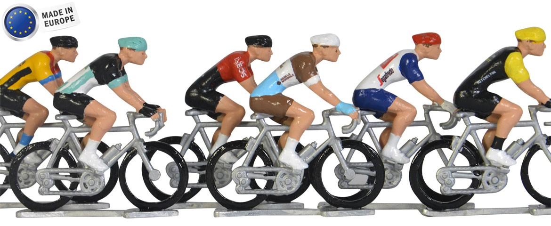 Miniature cyclists
